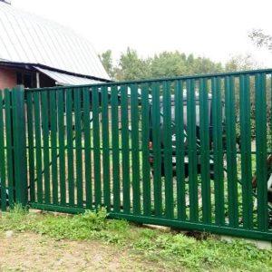 Откатные ворота Дача
